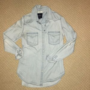 AE button up jacket